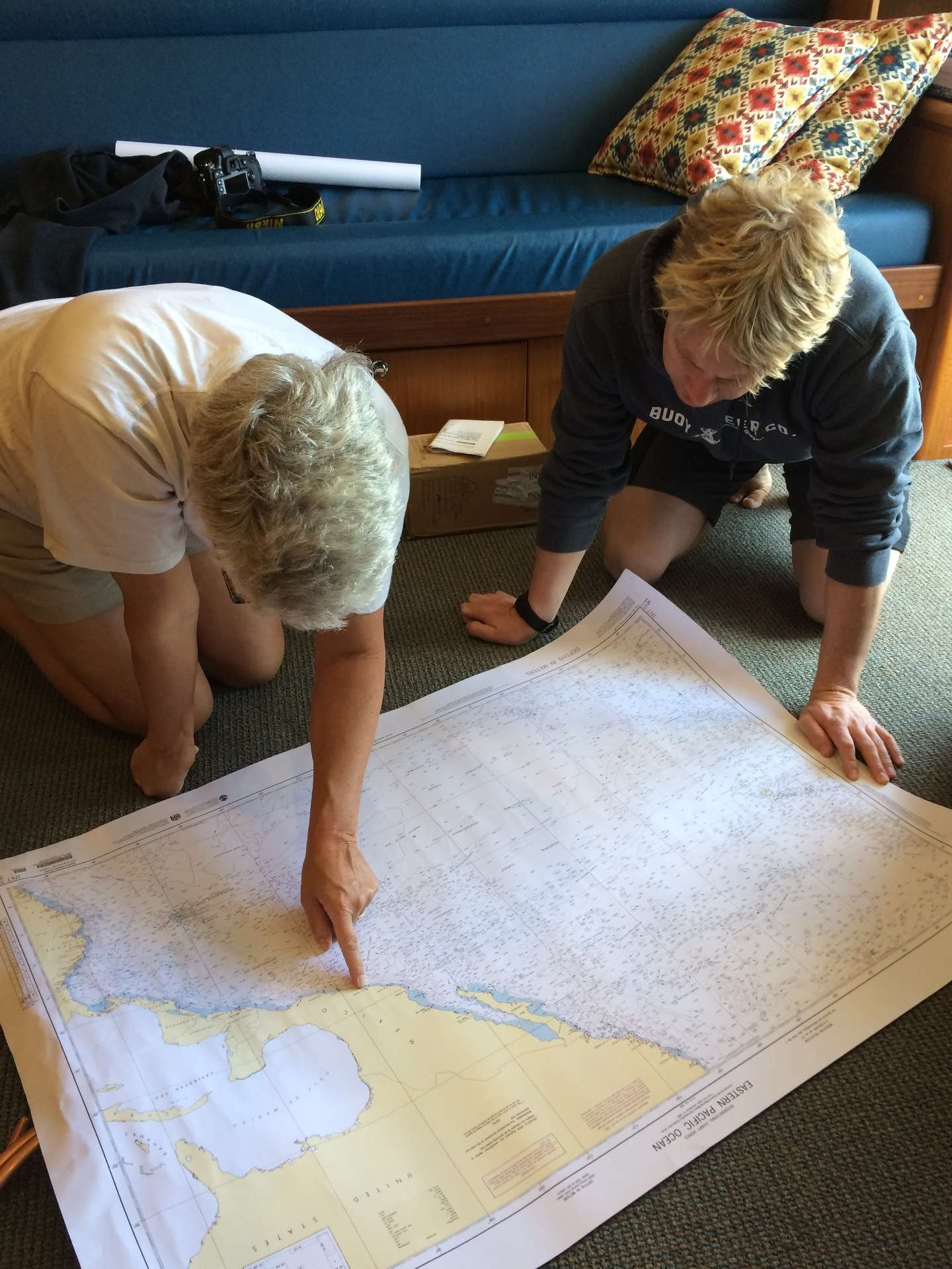 Preparing To Cross The South Pacific