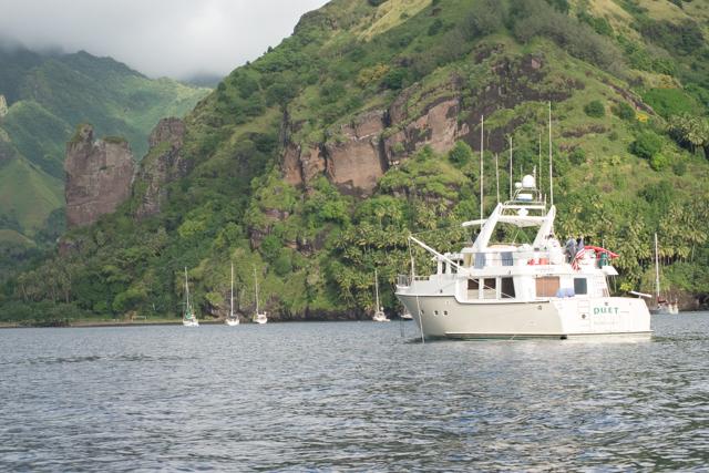 Cruising the Marquesas
