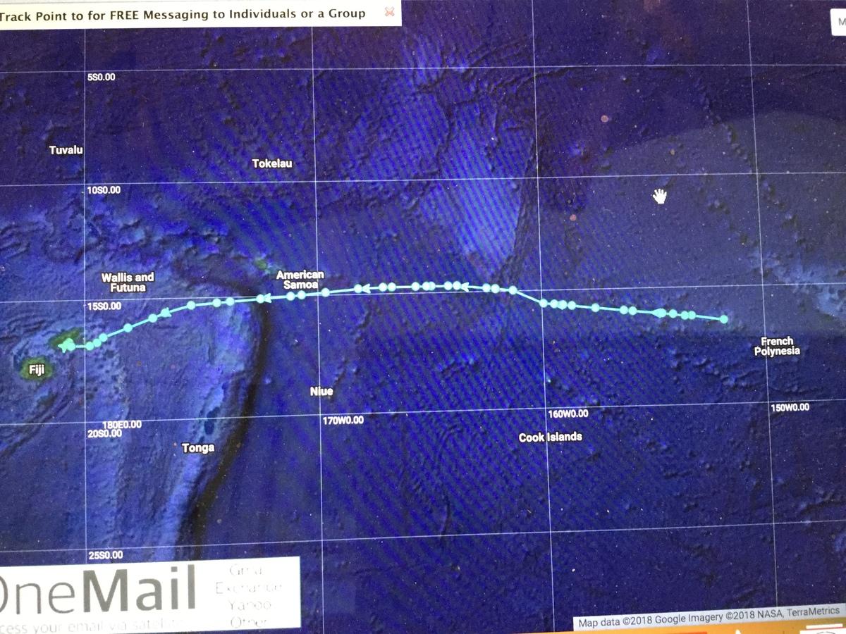 Bora Bora to Fiji